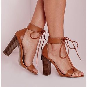 Missguided heeled sandals